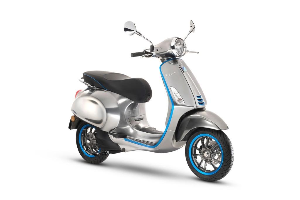 Vespa lansează scuterul electric - Vespa Elettrica