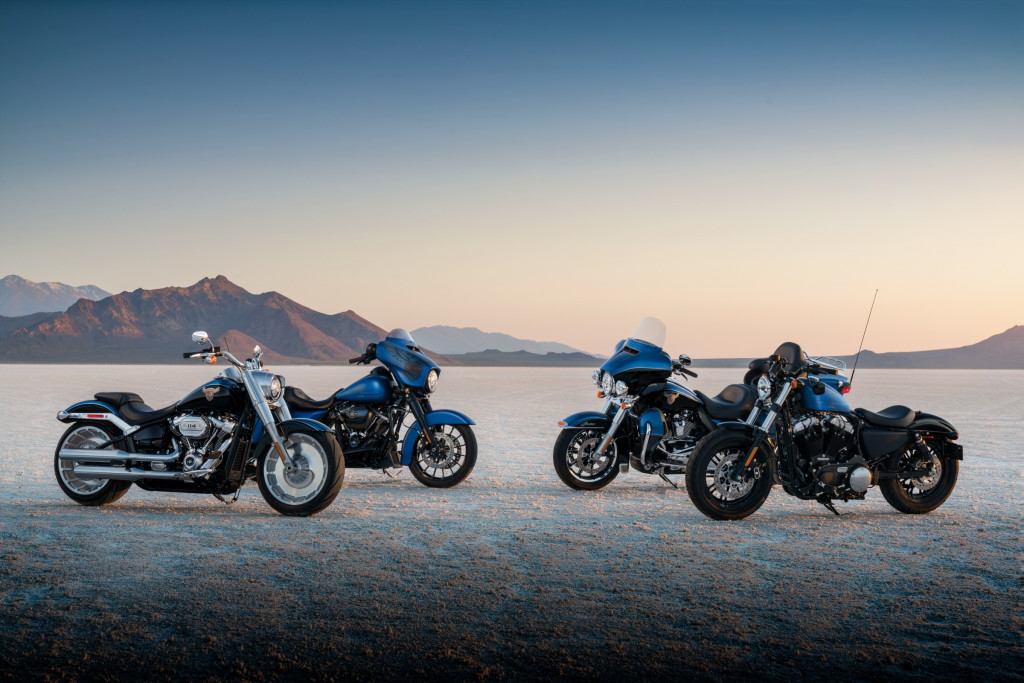 Harley-Davidson prezintă gama 115th Anniversary pentru 2018