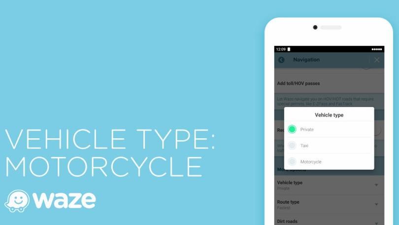 Waze are acum o funcție dedicată motocicliștilor