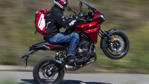 Test Yamaha Tracer 700 – La drum cu voie bună