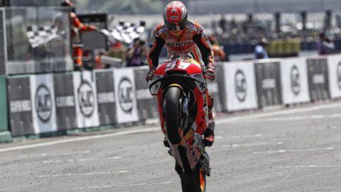 Marquez zdrobește concurența în Franța. Zarco și Dovizioso cad.