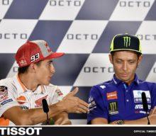 Rossi refuză mâna întinsă de Marquez înaintea cursei de la Misano