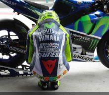 """Rossi are un ritual """"romantic"""" cu motocicleta înainte de fiecare cursă"""
