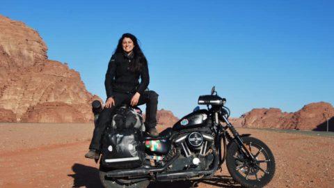 Elena, un Harley Sportster și o călătorie fantastică
