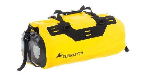Accesorii testate: Geanta Touratech Dry bag Adventure Rack-Pack