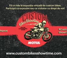 Motul organizează o expoziție online de motociclete custom