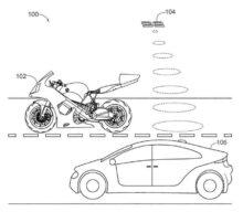 Honda brevetează motocicleta cu dronă integrată